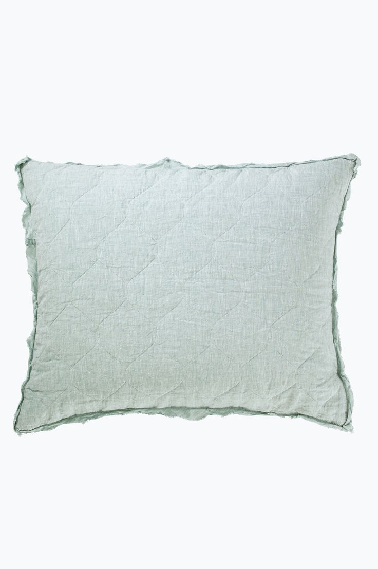 Ellos Home Elmira-tyynynpäällinen pestyä pellavaa väreissä Pellavabeige, Tummanharmaa, Mintunvihreä, Farkunsininen, Roosa kategoria Koti - Tyynynpäälliset - Ellos