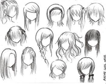 Stupendous 1000 Ideas About Manga Hairstyles On Pinterest Anime Hair Short Hairstyles For Black Women Fulllsitofus