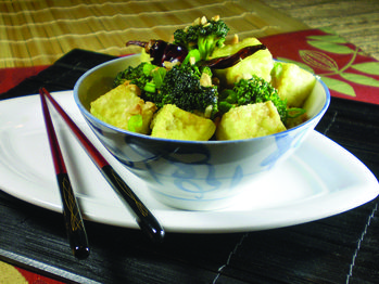 Kung Pao Broccoli and Tofu from Cookstr. http://punchfork.com/recipe ...