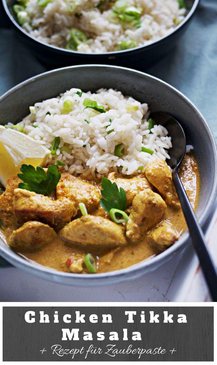 Chicken Tikka Masala Rezept.Schnelle Küche dank super Paste