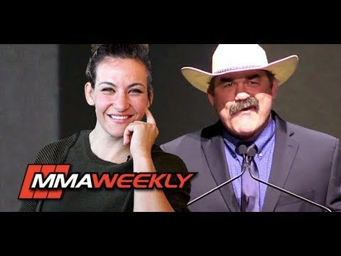 MMA Don Frye Hits on Miesha Tate at Uncomfortable UFC Hall of Fame Ceremony