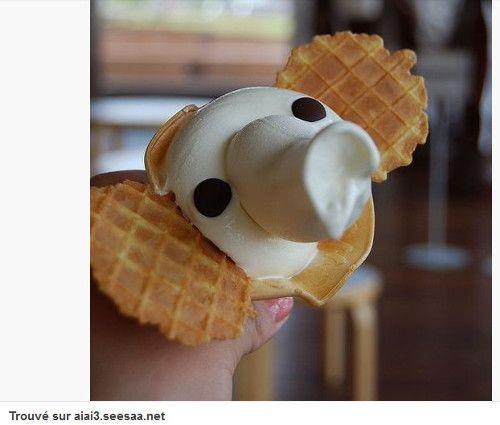 Glaces en forme de koala, éléphant ou macaron vues sur Pinterest - Pinterest : 12 glaces originales dénichées pour vous sur Pinterest