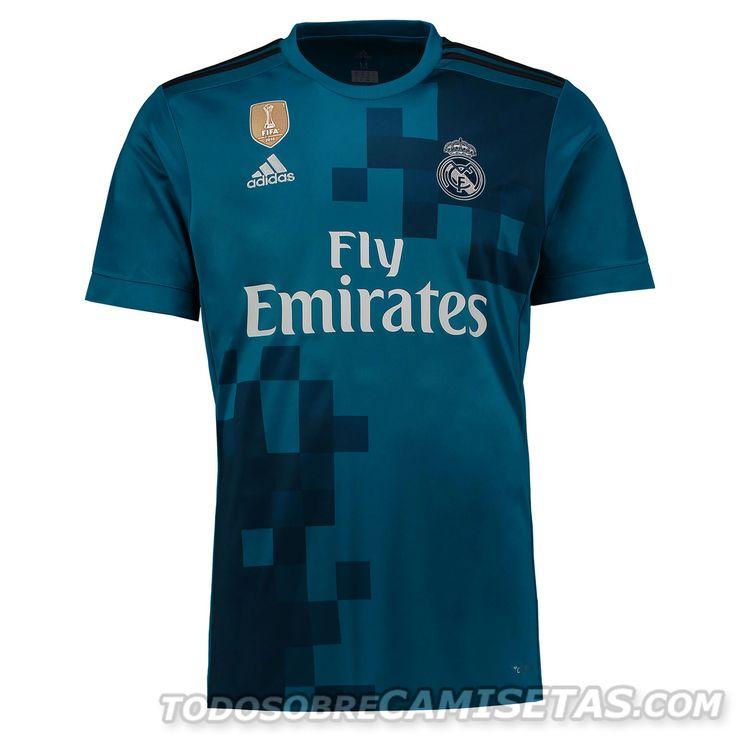 Tercera camiseta adidas de Real Madrid 2017-18