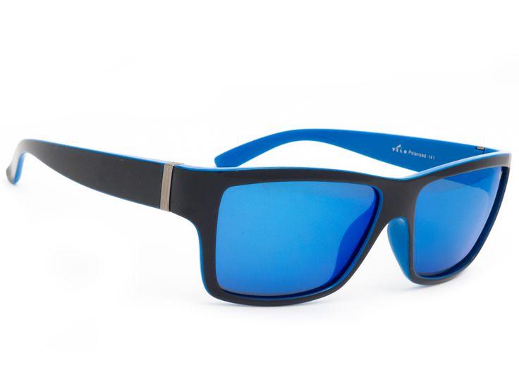 Polaryzacyjne okulary przeciwsłoneczne z lustrem. Okulary Velo Polarized 141 N