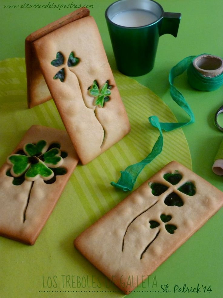 1000 Images About Ideas Para El Consultorio On Pinterest: 1000+ Images About St. Patrick's Day Cookies, Cakes