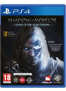 Warner Middle Earth: Shadow of Mordor Game of the Year Middle-earth: Shadow of Mordor Game of the Year Edition expands on the critically-acclaimed original title which includes the main game and all currently available downloadable content (DLC) packs all http://www.MightGet.com/february-2017-1/warner-middle-earth-shadow-of-mordor-game-of-the-year.asp