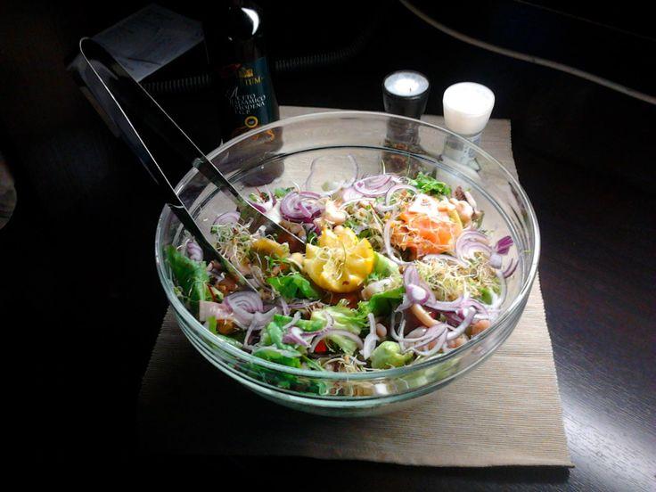 O salata savuroasa