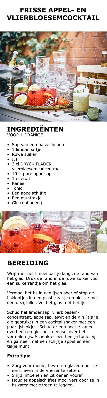 Inspiratie voor in de keuken - Frisse appel- en vlierbloesemcocktail | #IKEA…