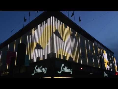 Lys: Kom og tegn på Sallings nye facade | Shopping | stiften.dk