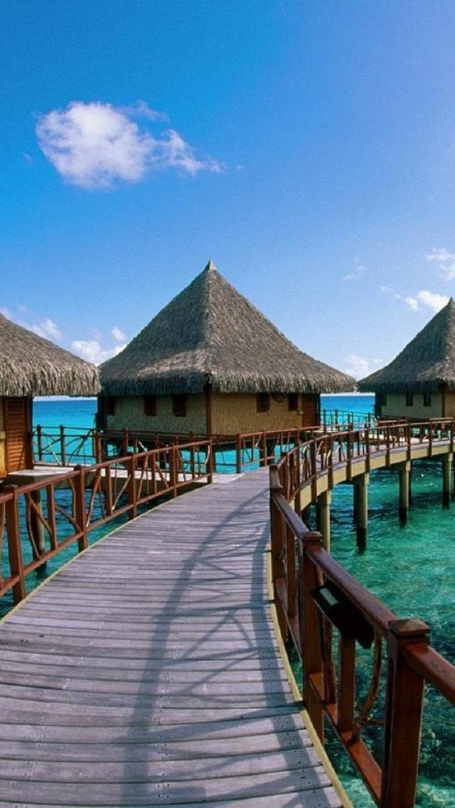 Kia Ora Hotel, Rangiroa Lagoon, Tuamotu Islands, French Polynesia