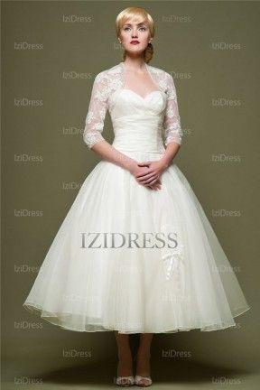 15 best Wedding Dresses Tea Length images on Pinterest | Homecoming ...