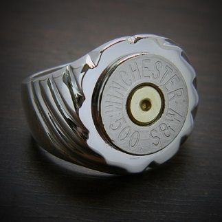 Bullet Jewelry by JECTZ® - Men's Top Shot Sterling Silver Bullet Ring, $99.95 (http://www.jectz.com/mens-top-shot-sterling-silver-bullet-ring/)