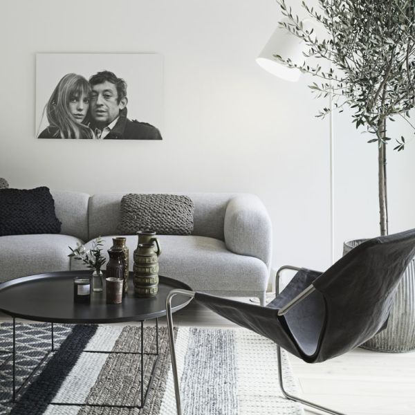 Minimalist Nordic interior With Shades Of Grey And Natural Wood.  I'm very impressed about this amazing space.... Please take time and take a look these images, you will really find out how well the designer managed to carry through the same colour schematic throughout the rooms, which is not really easy to do.   SIMPLY BRILLIANT!!!