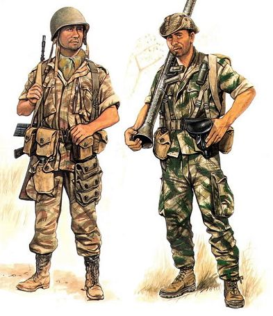 Portuguese Paratroopers