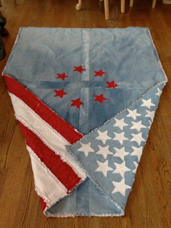 Best 25+ American flag quilt ideas on Pinterest | Flag quilt, Blue ... : american flag quilts for sale - Adamdwight.com