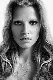 On December 20th in 1983, Dutch model Lara Stone was born.  Subscribe to daily Fashion History facts on on our blog! #fashion #larastone #tifh