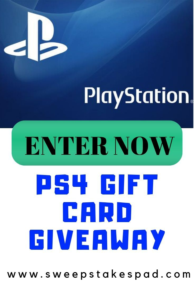 Free psn code generator sweepstakes ps4 gift card