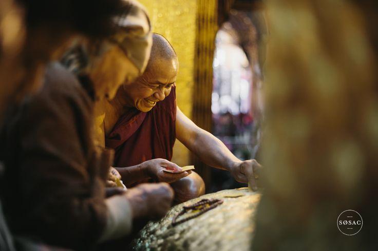#goldleaf #mandalay #burma #myanmar © Shane O Sullivan SOSAC Photography