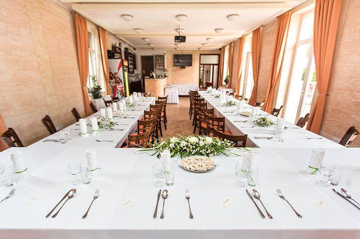 Svatební tabule - restaurace