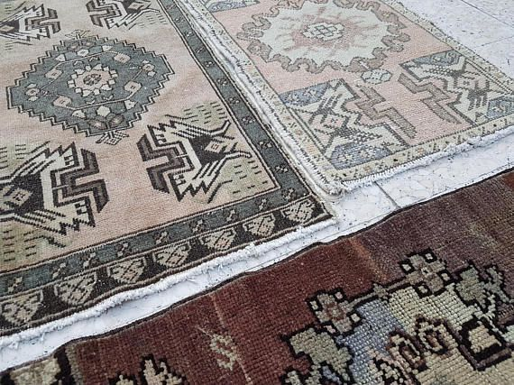 Set of 3 Piece High Quality Hand Knotted Oriental Turkish