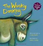 The Wonky Donkey (Book + CD) ~ Paperback ~ Craig Smith