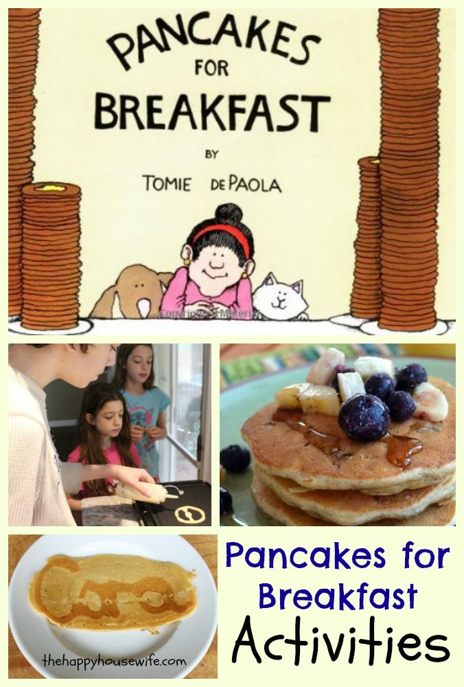 31 Days of Read-Alouds: Pancakes for Breakfast ...