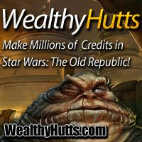 Make Millions of Credits in Swtor!    Are you broke in Swtor?  Wish you had enough credits to buy the best gear?  Might I suggest you check out WealthyHutts.  They will show you how to mass millions of credits in Star Wars: The Old Republic in no time at all! http://www.leadsleap.com/go/43642