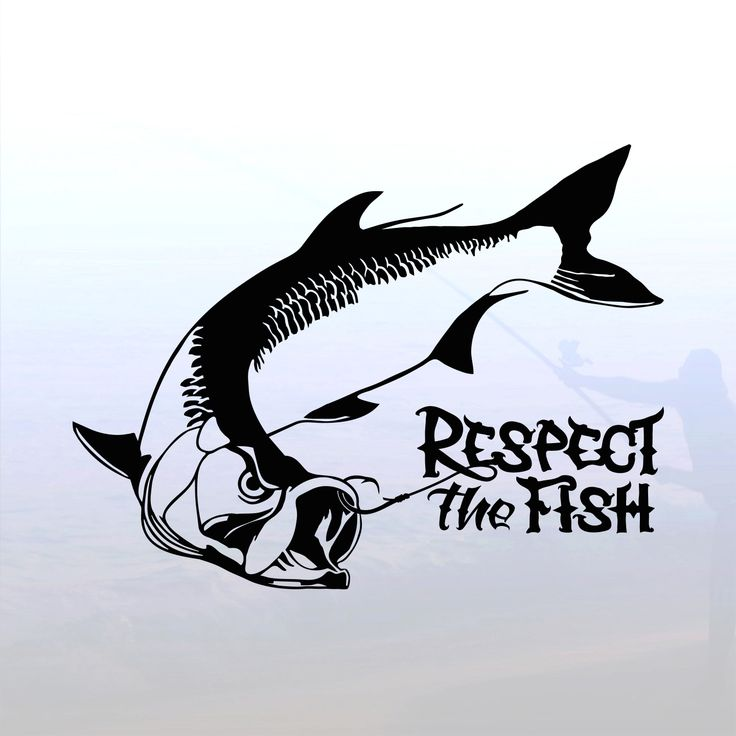 17 best images about fishing silhouettes vectors for Saltwater fishing decals