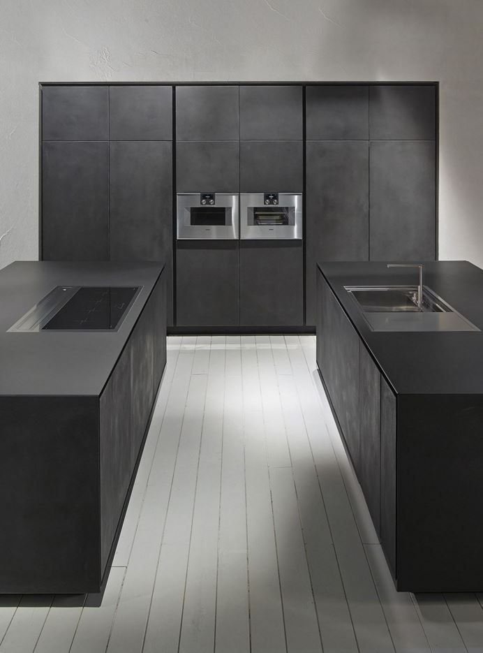 ONE #Kitchen with island by RIFRA