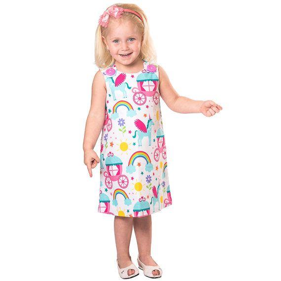 Fairytale dress princess dress pinafore dress by CraftaholicShop