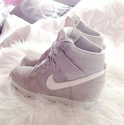 Nike wedge sneakers okayyy im gettin these as soon as i  cann:)