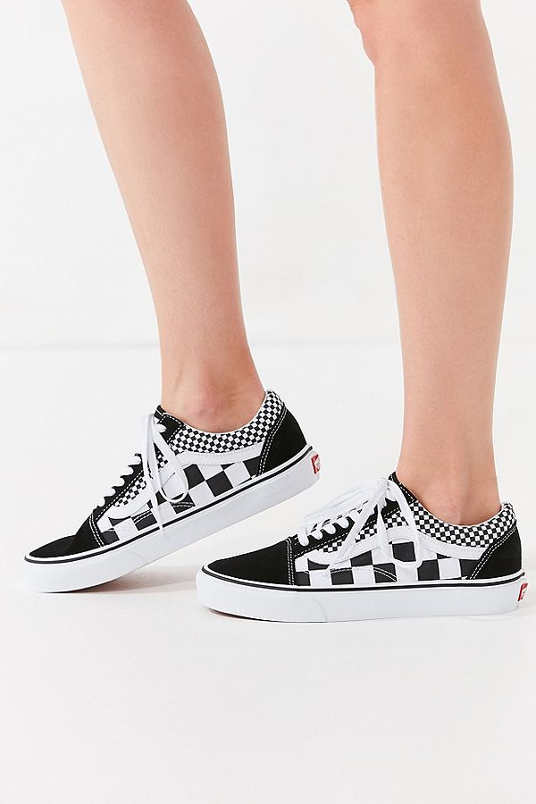 6bc057a2ba1 Slide View  3  Vans Mix Checkerboard Old Skool Sneaker