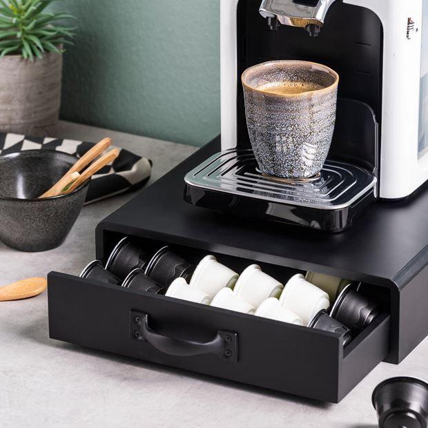cafe boite tiroir pour capsules cafe