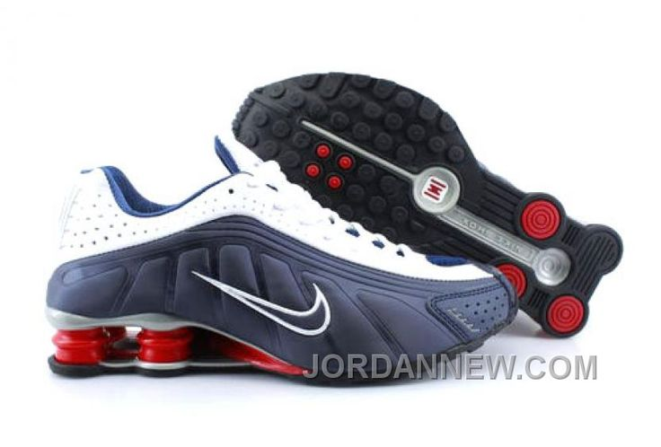 http://www.jordannew.com/mens-nike-shox-r4-shoes-navy-white-red-grey-new-style.html MEN'S NIKE SHOX R4 SHOES NAVY/WHITE/RED/GREY NEW STYLE Only $75.04 , Free Shipping!