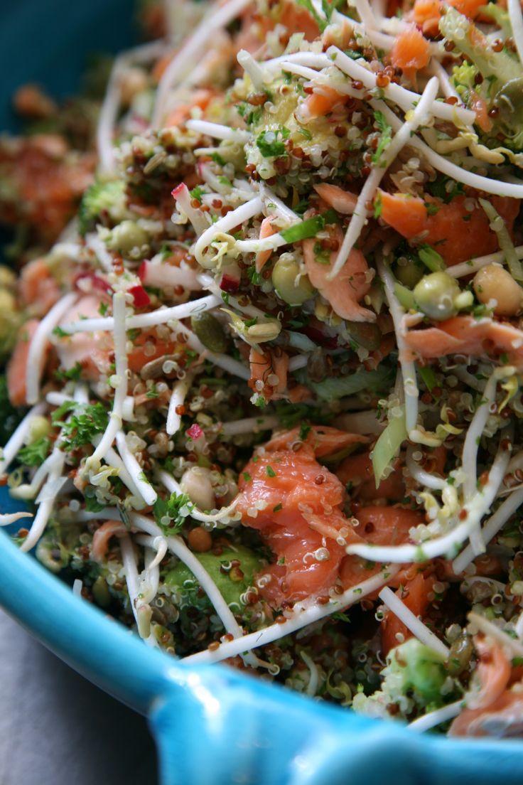 Ripe Superfood Salmon & Quinoa Salad Ripe Recipes - A Fresh Batch By Angela Redfern