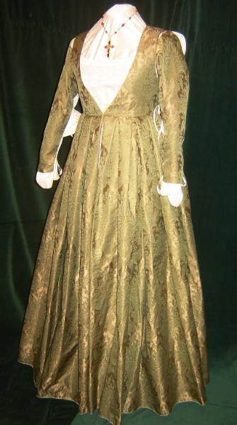 Italian empire style dress
