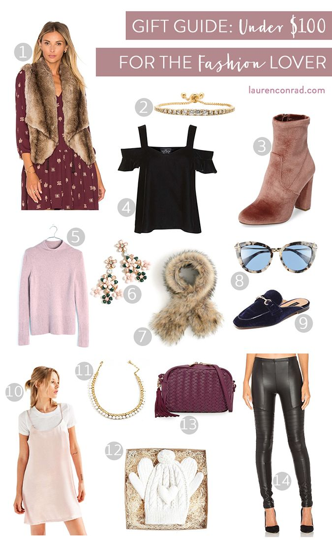 Gift Guide: For the Fashion Lover – Lauren Conrad