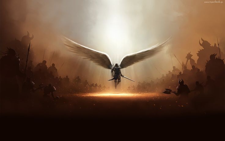 Diablo, Anioł