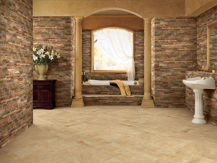 At Dela Tile, Weu0027re Experts In Installing Beautiful Bathroom Surfaces Like  This One · Natural Stone ...