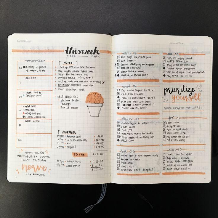 Color Journal Ideas : 668 best bullet journal images on pinterest