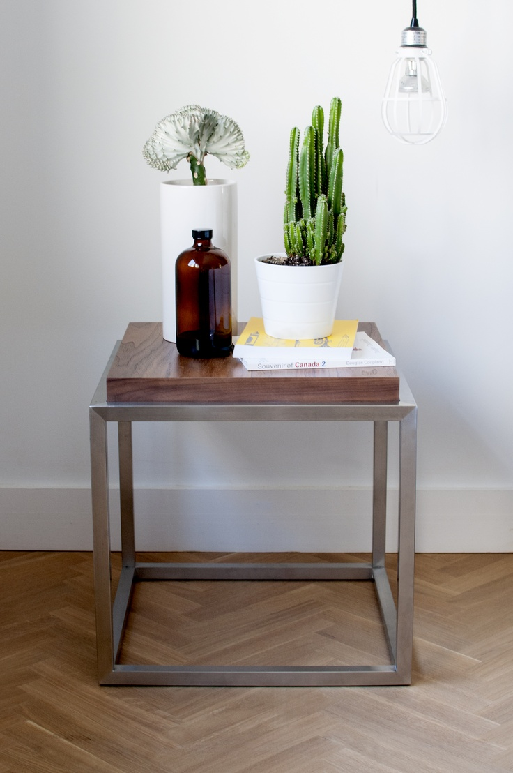 Gus* Modern | The Drake End Table Is A Minimalist Accent Table Constructed  With A