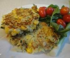 Recipe Sweetcorn fritters  | Thermomix #Gluten Free Recipe Competition