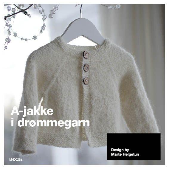 A-jakke i drømmegarn, 5-14 år - Mine mønstre - Butikken min - Design by Marte Helgetun