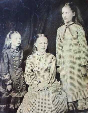 "Carrie, Mary, and Laura Ingalls. I loved the ""Little house on the prairie"" books."