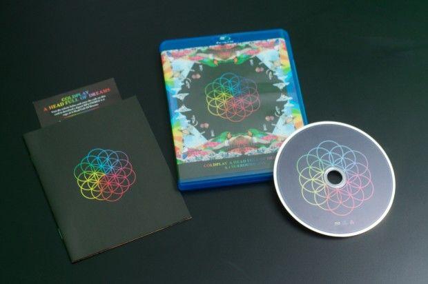 Die Coldplay-Disc gehört zu den wenigen modernen Audio-Blu-rays, die die Surround-Anlage gezielt ansprechen. (Foto: Andreas Sebayang/Golem.de)