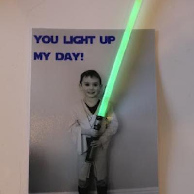 Perfect for my Star Wars loving child!