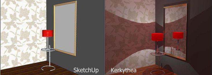 www.sketchupcursus.nl - SketchUp 3D gerenderd met Kerkythea