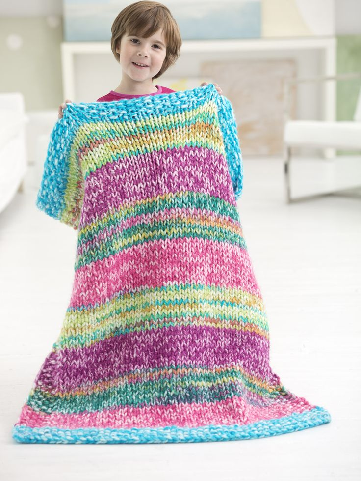 Knitting A Blanket With Circular Needles : Best images about kids baby knitting patterns on