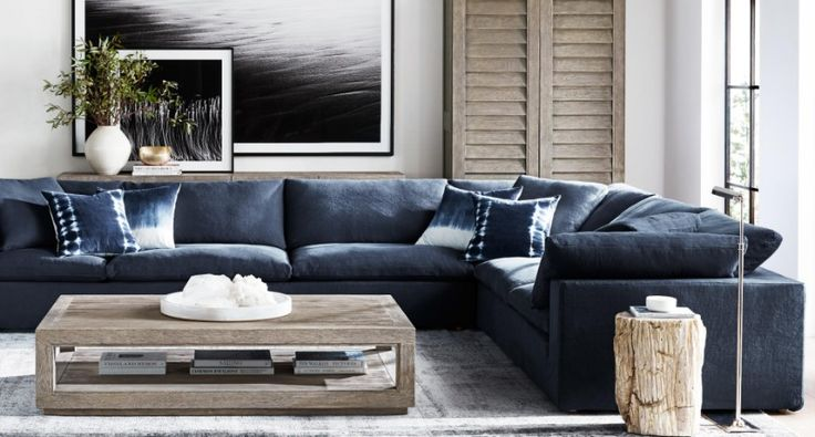 9 Modern Sofas By Restoration Hardware That Will Steal Your Attention | Living Room Ideas. Sectional Sofa. #modernsofas #livingroomset #sectionalsofa Read more: http://modernsofas.eu/2016/11/24/modern-sofas-restoration-hardware-steal-attention/