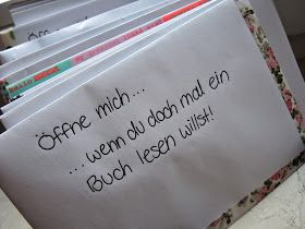 never stop exploring: Zum Abschied für meine Liebsten - 'Öffne mich, wenn' Briefe